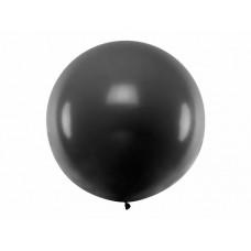 Lateksa balons, Melns, (1 m)