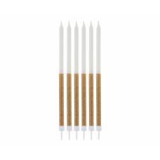 Glitter sveces, 16 gb, (14.5 cm)