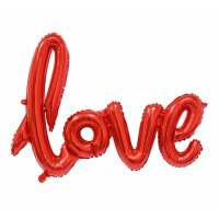 Balonu virtene Love, (68 cm)