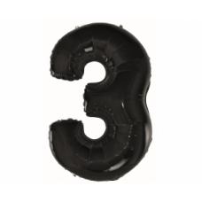 Cipars 3, Melns, (92 cm)