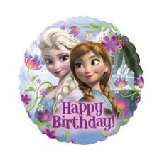 Folija balons, Frozen, Happy Birthday, (43 cm)