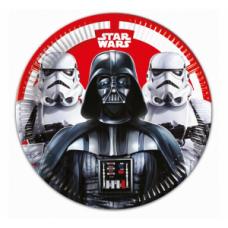 Šķīvīši, Star Wars, 8 gb, (23 cm)
