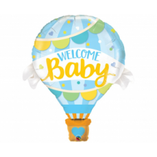 Welcome Baby Blue, (107 cm)