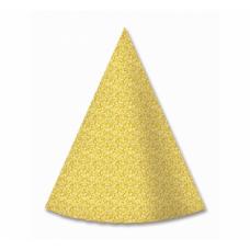 Papīra cepures, Zelts, (4 gb)